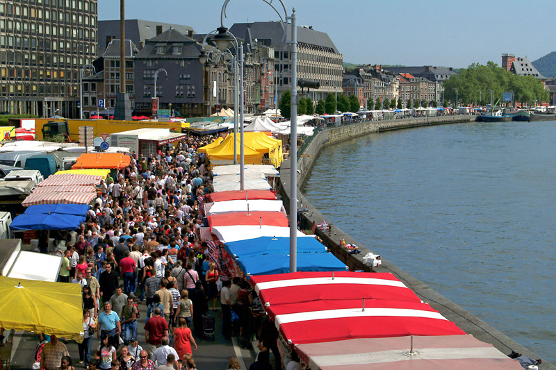 La batte, the sunday market in Liège