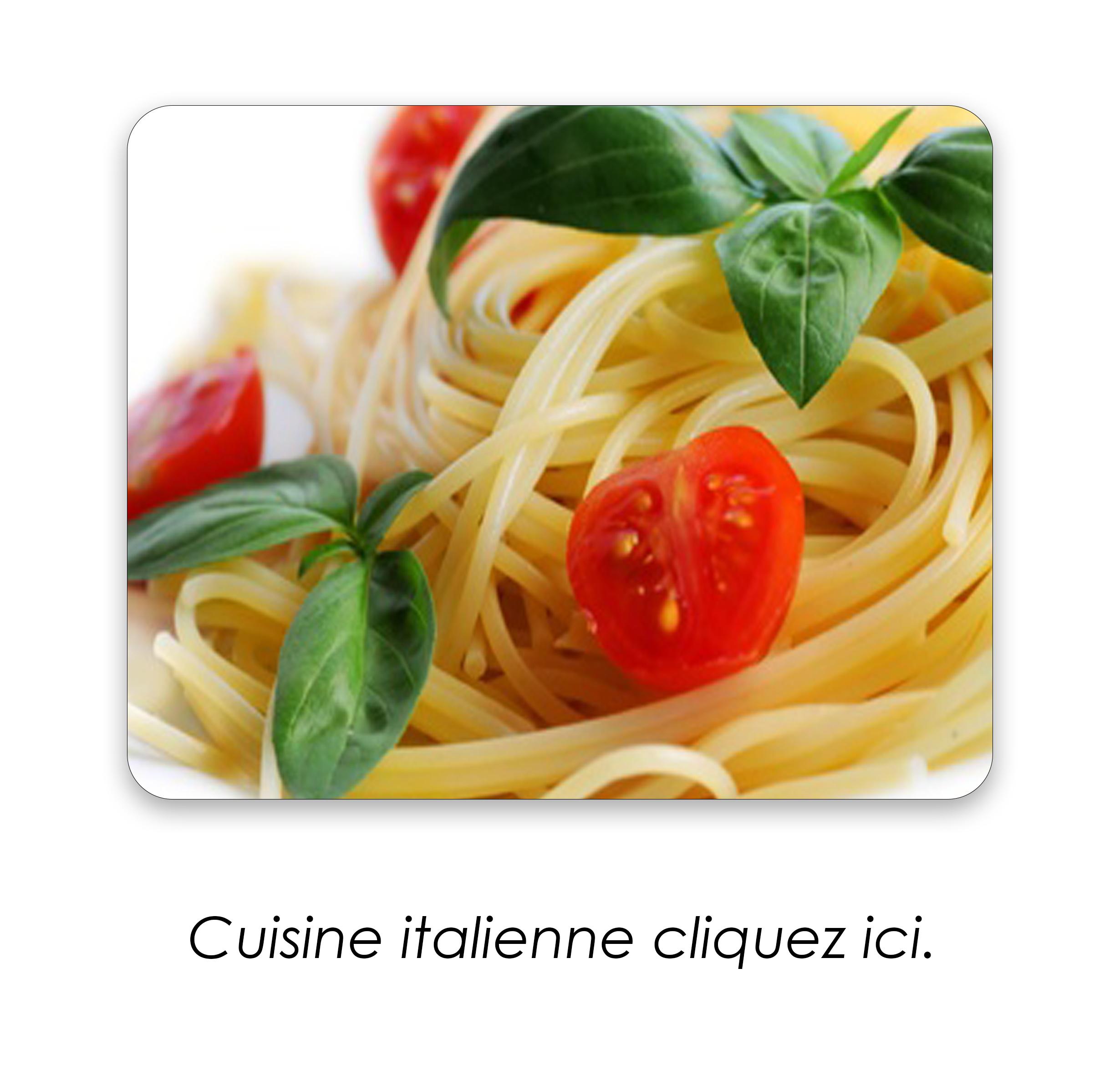 cuisinne italiennee